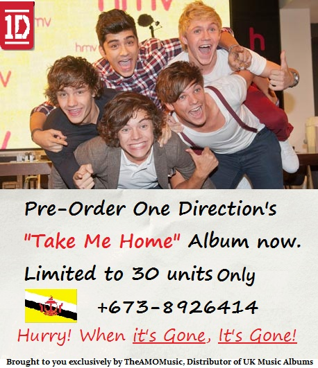 """Take Me Home"""" One Direction's New Music Album – Pre-Order"""