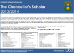 Apply for a Chancellor Scholar maybe?