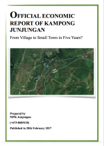 Economic Charter of Kampong Junjongan: From Village to Small Town in FiveYears?